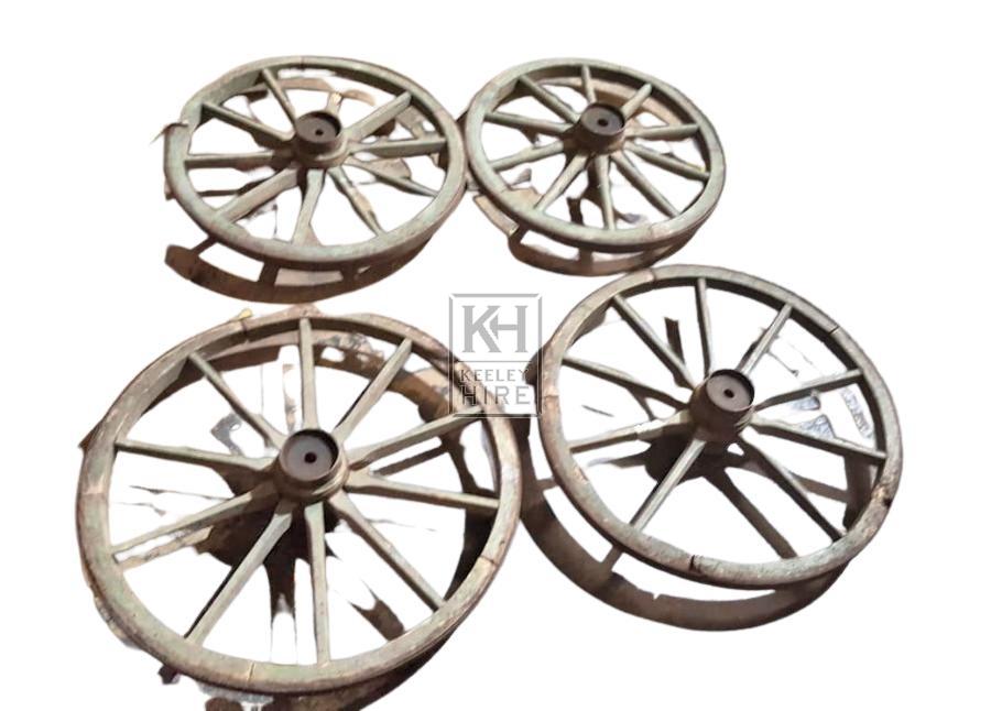 Medium Cart Wheels