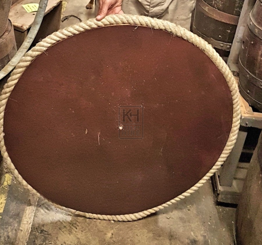 Rope Bound Barrel Top