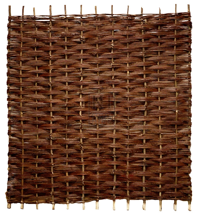 Willow fencing panel