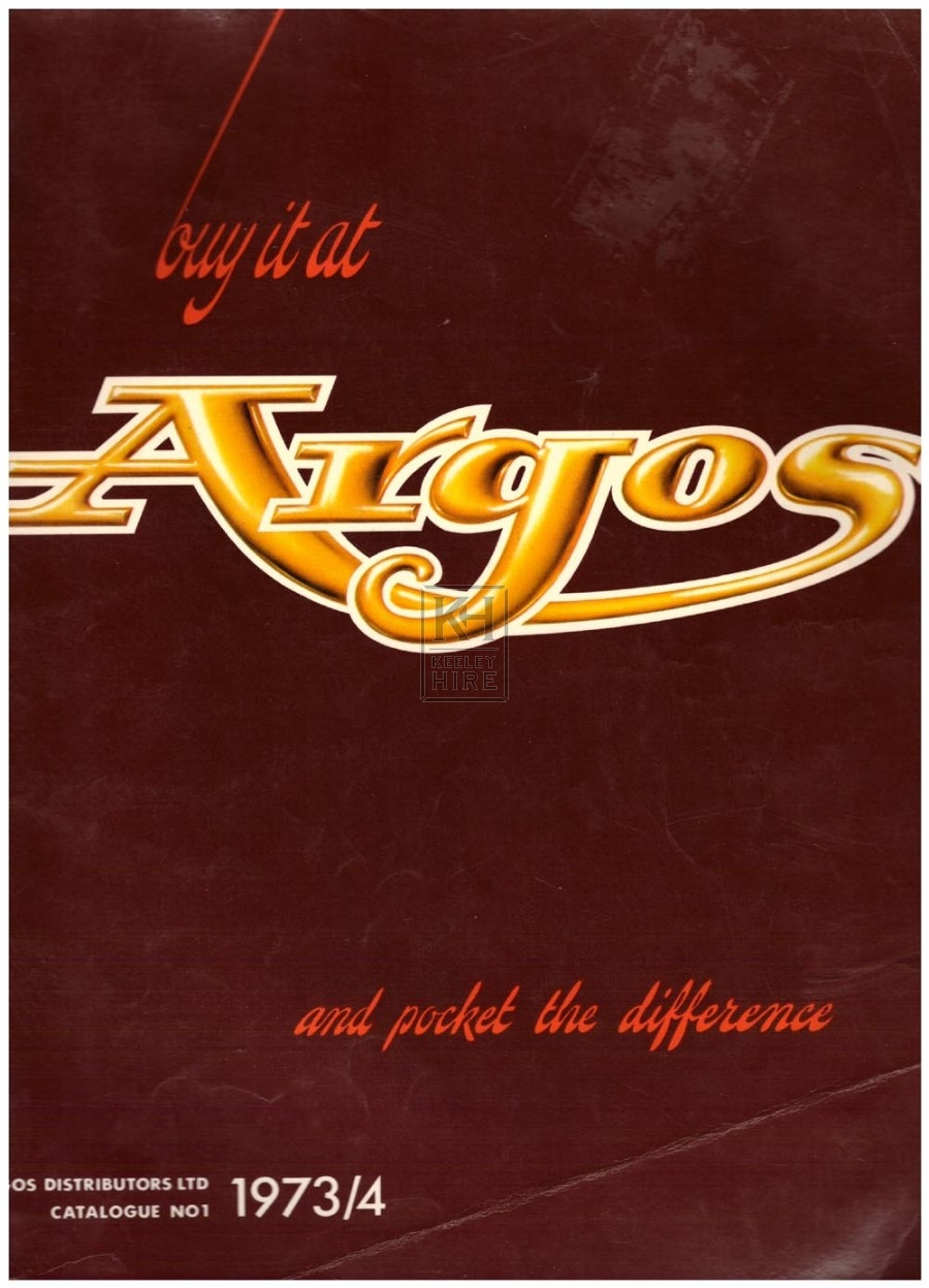 Argos Autumn Winter 1973/4