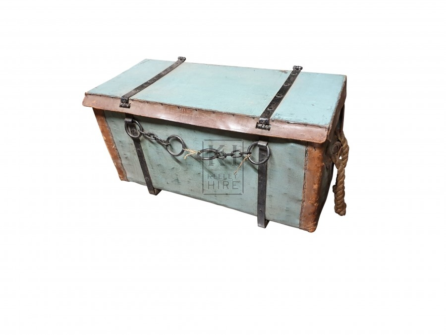 Wartime medical box wicker