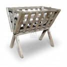 Medium Floorstanding Wood Hay Manger