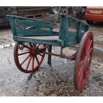 2-wheel handcart with handles