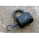 Large early padlock with key