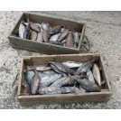 Wood fish crates