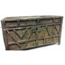Small detailed wood chest