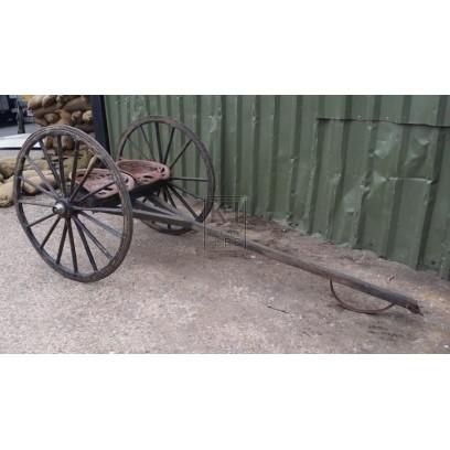 Hay rake with wheels & 2 seats