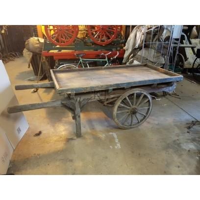 Flat 2-wheel handcart no1