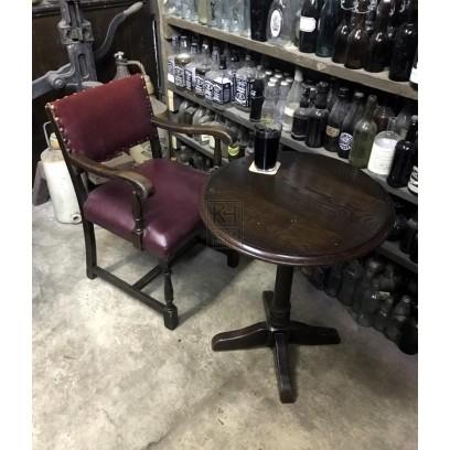 Period studded pub chair