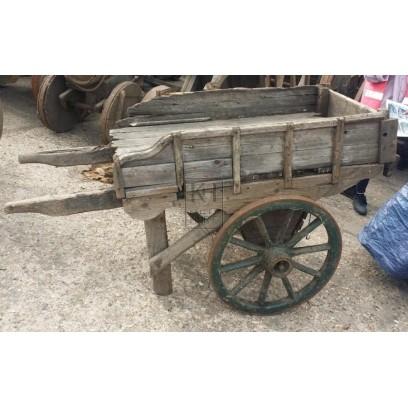 Shaped Side Wooden Handcart