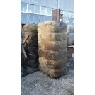 Large bales with cotton