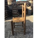 Wooden Chair with Rush Seat
