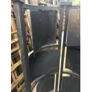 Curved Brazier With Adjustable Panels