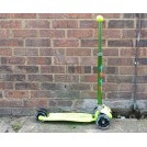 Green childs scooter - 3 wheel