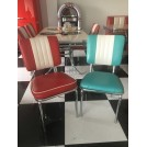 Turquoise American Diner Chair