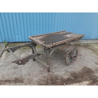 2-handle flat cart