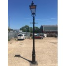 10ft Ornate Cannon Lamppost