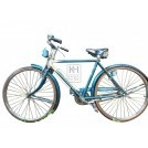 period blue childs bicycle